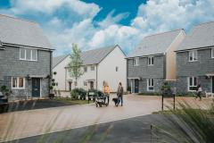 The first residents have started moving in at the new LiveWest affordable homes in Marazion